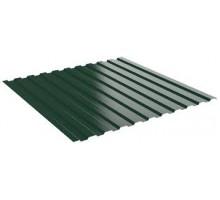 Профнастил С-8 ТУ 0,45 зеленый мох RAL 6005 1,2*2,0 м