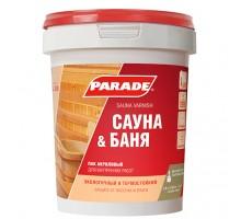Лак для саун акриловый PARADE 2,5л Финляндия