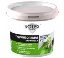 Гидроизоляция  акриловая 1кг SOLEX
