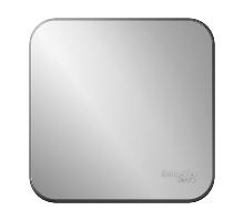 Выключатель 1ОП б/п 10А IP20 алюм. Бланка SE BLNVA