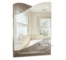 Зеркало Версаль 495*690мм 2 полки MIXLINE