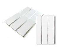 Панель трехсекционная Серебро 0,24*3м