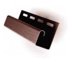 J профиль коричневый 3,05м Ю-пласт