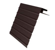 Ветровая доска J-фаска коричневая 3,05м Ю-Пласт