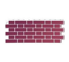 Фасадная панель Йорк (темно-розовый)