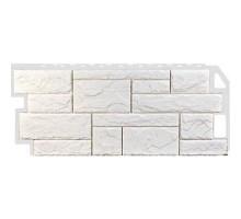 Фасадная панель Камень природный жемчужный
