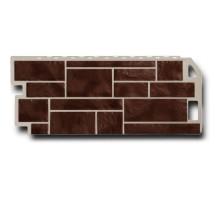 Фасадная панель Камень коричневый Natur
