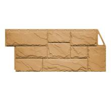 Фасадная панель Камень крупный бежевый
