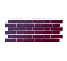 Фасадная панель Рединг (бордовый)