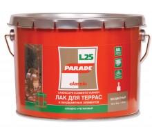Лак для терасс 0,75л L25 глянцеый PARADE