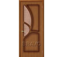 Дверь Греция Орех Ф-11 ПО Ковров СТ-121