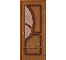 Дверь Греция Орех Ф-11 ПО Ковров СТ-Худ.