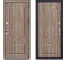 Дверь мет Groff Р3-310 П-1 Темный Орех / П-1 Темный Орех