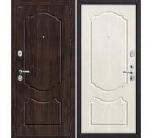 Дверь мет Groff Р3-310 П-28 Темная Вишня / П-25 Беленый Дуб