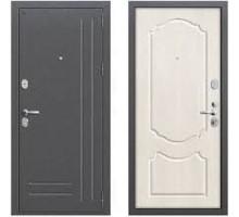 Дверь мет Groff Р2-210 Антик Серебро / П-25 Беленый Дуб