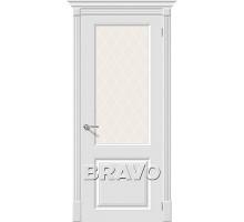 Дверь К Скинни-13  White Сrystal Ковров
