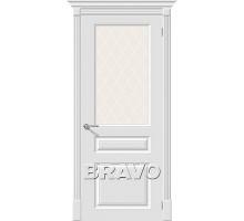 Дверь К Скинни-15.1  White Crystal Ковров