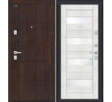 Дверь мет Porta M 4.П23 Almon 28 / Bianco Veralinga