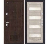 Дверь мет Porta M 4.П23 Almon 28 / Cappuccino Veralinga