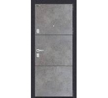 Дверь мет Porta M П50.П50 Dark Concrete / Angel