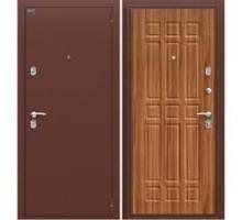 Дверь мет Оптим Старт Антик Медь / П-8 Янтарный Дуб