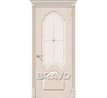 Дверь Афина БелДуб Ф-20 ПО СТ-Худ Ковров