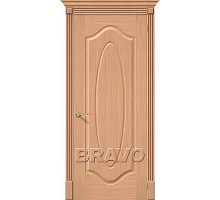 Дверь Аура Дуб Ф-01 ПГ Ковров