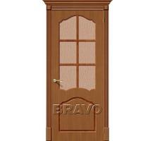 Дверь Каролина Ф-11 Орех ПО СТ-118 Ковров