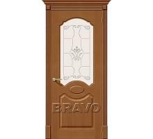 Дверь Селена Орех Ф-11 ПО СТ-Худ Ковров