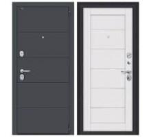 Дверь мет ДС Porta S 4.Л22 Graphite Pro / Virgin