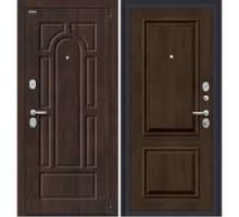 Дверь мет Porta S 55.К12 Almon 28 / Dark Oak