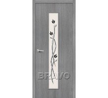 Дверь 3DG Тренд-14 Grey
