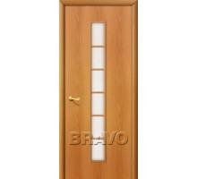 Дверь 4С2 стекло миланский орех Ковров