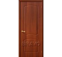 Дверь Альфа ПГ глухая итальянский орех Ковров