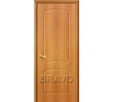 Дверь Альфа ПГ глухая миланский орех Ковров
