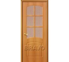 Дверь Кэролл ПО ост ПВХ миланский орех Ковров