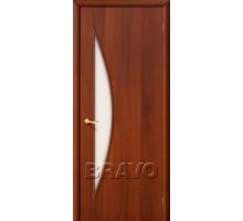 Дверь 4С5 стекло итальянский орех Ковров