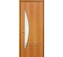 Дверь 4С5 стекло миланский орех Ковров