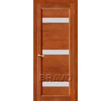 Дверь Вега-2 темн. орех ПЧО СТ-Кризет белое