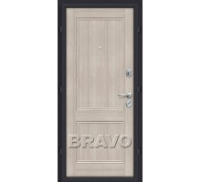 Дверь мет Оптим Класс Cappuccino 205/88,96 пр.,лев. Лунный камень