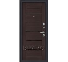 Дверь мет ДС Porta S-3 4/П22 Al 28/Wenge veral 88/98 Лев,пр