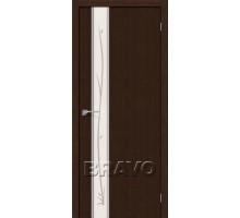 Дверь 3DG Глейс-1 Twig Wenge