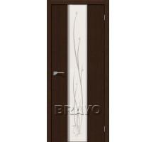 Дверь 3DG Глейс-2 Twig Wenge