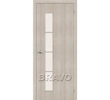 Дверь ЭКО Тренд-4 Cappuccino Veralinga Ковров
