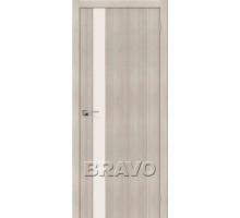 Дверь ЭКО Порта-11 Cappuccino Veralinga Mag Fog Ковров