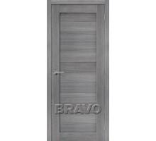 Дверь ЭКО Порта-21 Grey Veral Mag Fog Ковров