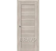 Дверь ЭКО Порта-22 Cappuccino Veral Mag Fog Ковров