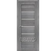 Дверь ЭКО Порта-22 Grey Veral Mag Fog Ковров