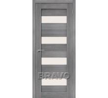 Дверь ЭКО Порта-23  Grey Veral  Mag Fog  Ковров