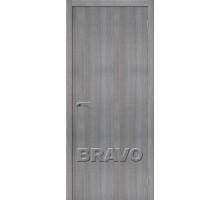 Дверь ЭКО Порта-50 Grey  Crosscut Ковров